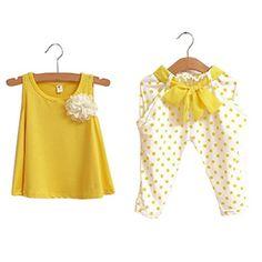 Hatop Pretty Baby Girl Charming Dot Flower Set Toddler Ve... https://www.amazon.com/dp/B01HLUGPFK/ref=cm_sw_r_pi_dp_x_7WDOybH79QSNA