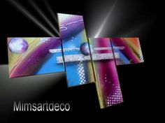 Tableaux moderne Abstract Art, Deco, Craft, Modern Paintings, Wall Art, Canvas, Deko, Dekoration, Decor