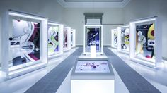 Nike's Month of Air culminates on Air Max Day, March with continued special in-store events and parties from Berlin to Shanghai. Interactive Exhibition, Exhibition Booth, Exhibition Space, Exhibition Ideas, Shoe Display, Display Design, Booth Design, Air Max Day, Phone Shop