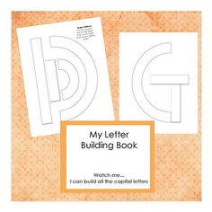 patterns for building letters -- like Handwriting without Tears