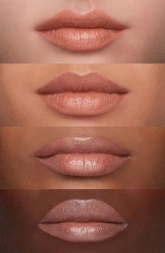 MAC Nudes Lipstick - Bare Bling #LipstickForFairSkin Mac Retro Matte, Mac Brave, Mac Velvet Teddy, Mac Lipstick Velvet Teddy, Kylie Jenner Lipstick, Dupes Nyx, Nyx Cosmetics, Lipstick Dupes, Elf Dupes