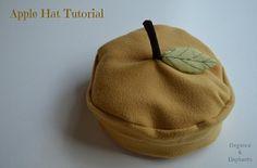 Tutorial: Fleece apple hat · Sewing   CraftGossip.com