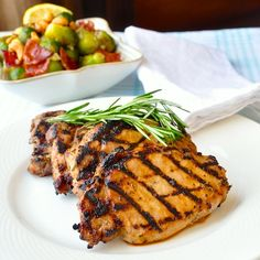 Brown Sugar Pecan Glazed Pork Loin - http://www.rockrecipes.com/brown-sugar-pecan-glazed-pork-loin/