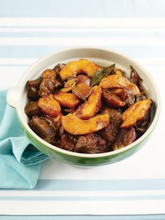 Beef & quince stew