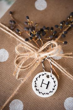 simple and chic holiday wrapping from kelli murray
