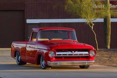 57 Ford F-100, saw this truck on the Hot Rod Power Tour a few years ago, it is outstanding....