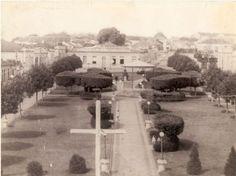 O Jardim da Praça do Rosário