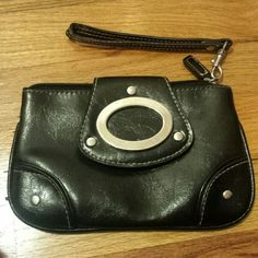 Clutch Black Bags Clutches & Wristlets