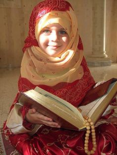 Muslim girl  Young Beautiful Hijabi in The Worlds Hijabers Cilik Cantik Sedunia http://hijabcornerid.com