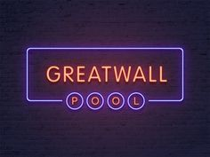 Neon Signboard Effect - download freebie by PixelBuddha