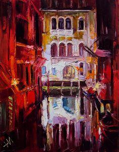 Nikita Manokhin, 1989 | Palette knife painter | Tutt'Art@ | Pittura * Scultura * Poesia * Musica |