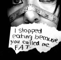 Guys please never starve yourself or harm. Please don't do that. If you need anyone to talk to I'll be here.
