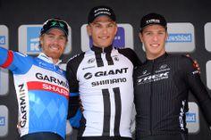 Gallery: 2014 GP Scheldeprijs - Tyler Farrar (left) finished second, barely holding off Danny Von Poppel (right). Photo: Tim De Waele | TDWsport.com