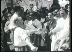 Imatges de la festa major de Vilafranca de 1934 i 1935. La Festa Major en 9,5 mm