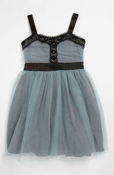 Roxette Tulle Party Dress (Little Girls & Big Girls) available at #Nordstrom