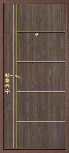 Входная дверь Stardis Gold (внутренняя сторона)