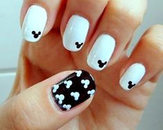 Be Cute: Uñas decoradas Minnie Mouse!! Paso a paso super fácil