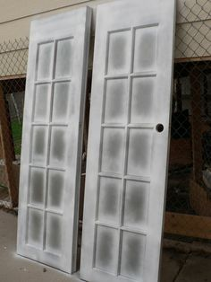 When painting glass panes dont bother taping first just paint how to paint french doors snugasabugbaby planetlyrics Choice Image