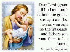 Catholic Artwork - Father's Day Prayer Card - English, $0.29 (http ...