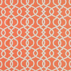 CR Laine Fabric: Cadence Melon - perfect for my window seats!