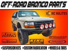 Desolate Motorsports Bronco Parts Ford Excursion, Rally Raid, Trophy Truck, Truck Mods, Ford Bronco, My Ride, Ford Trucks, Broncos, Offroad