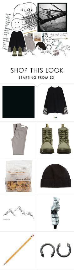 """THIS COLD IS TOO MUCH TO HANDLE"" by hobibb ❤ liked on Polyvore featuring AG Adriano Goldschmied, Dr. Martens, Portolano, Aesop, Paper Mate, Strange Days, bts, Suga, bangtan and yoongi"