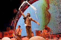 Flaming Lips - possibly the happiest show you could ever go to.