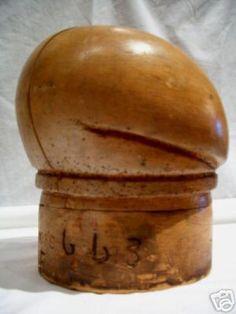 Block - Crease Beret - Wayne Wichern Millinery Hat Block Gallery 2007 - http://www.waynewichernmillinery.com/millinery/portfolio.php?p=34