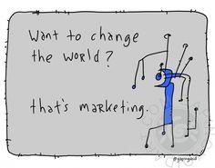 That's Marketing | gapingvoid art