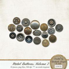 Metal Buttons, Volume 2