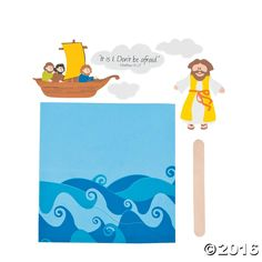 Looking for a unique VBS or church activity for kids? This fun foam Jesus Walks on Water Craft Kit is a must! Kids can place the self-adhesive foam Jesus . Peter Walks On Water, Jesus Walk On Water, Water Crafts Preschool, Vbs Crafts, Bible Story Crafts, Bible Crafts For Kids, Bible Activities, Activities For Kids, Sunday School Crafts For Kids