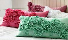 Beautiful rose cushions
