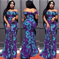 Pretty Exotic Ankara Long Gown Ankara Long Gown Styles, Classy, Gowns, Formal Dresses, Fashion, Vestidos, Moda, Dresses For Formal, Gown