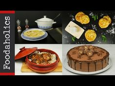 4 πολύ ξεχωριστές συνταγές για το Χριστουγεννιάτικο τραπέζι | Foodaholics - YouTube Waffles, Muffin, Cooking Recipes, Menu, Breakfast, Youtube, Food, Menu Board Design, Morning Coffee