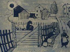 Henrik Finne (1898-1992): Henrik Finnes tresnitt Pictures