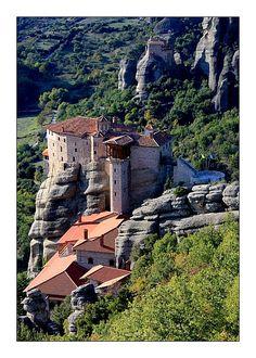 Monasteries of Meteora, Greece Copyright: Kamila Zadora