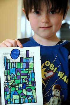 Color theory inspired by Paul Klee! Paul Klee is the man! Middle School Art, Art School, High School, Art 2nd Grade, Classe D'art, Paul Klee Art, Atelier D Art, Ecole Art, School Art Projects