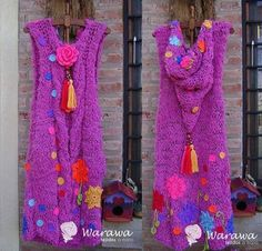 This Pin was discovered by Hav Crochet Mittens Free Pattern, Crochet Stitches For Blankets, Crochet Skirt Pattern, Crochet Jacket, Crochet Poncho, Crochet Jewelry Patterns, Christmas Crochet Patterns, Cold Weather Dresses, Hippie Chic