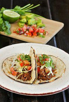 Coke-Braised Short Rib Tacos | The Hopeless Housewife