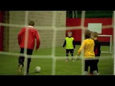 Soccer Coaching Dribbling Drill: Skills Corridor Plus - YouTube