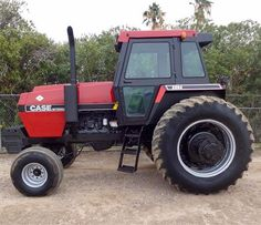 CASE IH 2594 Case Ih Tractors, Old Tractors, Tractor Implements, Classic Tractor, International Harvester, Farms, David, Brown, Red