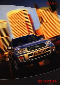 https://flic.kr/p/EQKTNf | Toyota RAV4;  2000_1 | front cover auto car brochure | by worldtravellib World Travel library