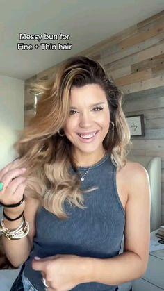 Summer Hairstyles For Medium Hair, Beach Hairstyles, Layered Hairstyles, Easy Mom Hairstyles, Work Hairstyles, Hairstyle Ideas, Medium Hair Styles, Curly Hair Styles, Hair Upstyles