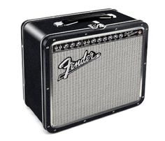 fender amp lunch box | cool mom picks Lawty!