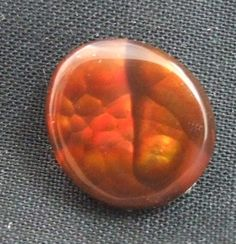 123  Fire Agate Stone Cabochon by BlackDogFireAgates on Etsy