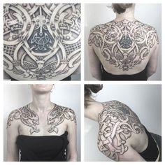 Wings of Huginn-Sean Parry Tattoo