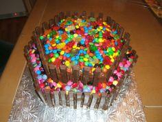 gâteau smarties Cake, Desserts, Food, Smarties Cake, Meal, Pie Cake, Tailgate Desserts, Pastel, Dessert