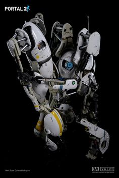 3A x VALVe Portal 2 Atlas & P-Body Bambalandstore exclusive 2-FIGURE box set Fully articulated and detailed Featuring Light-Up Optical Sensor and Light-Up Handheld portal device planned pre-order time: May 25th 9:00AM Hong Kong time at www.bambalandstore.com price: 340USD with shipping included in the price