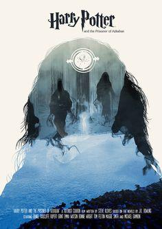 Harry Potter and the Prisoner of Azkaban  - Movie Poster Art Print