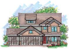 Craftsman   Farmhouse  Traditional   House Plan 72909